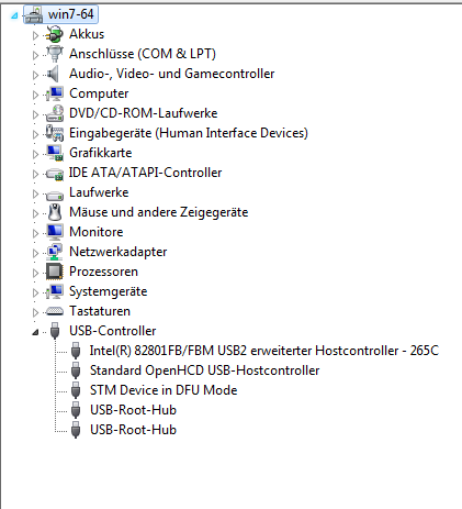 Deviation - Can't detect my Devo 10 from Dfuse USB