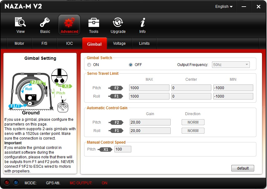 gimbal deviation dji f550 devo10 naza m lite deviation forum naza lite wiring diagram at n-0.co